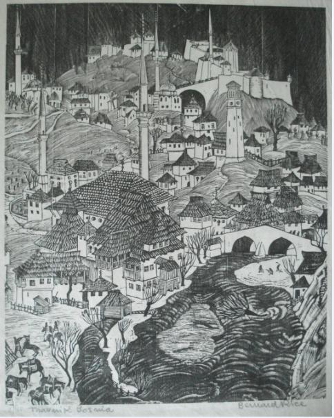 Sarajevo Etching